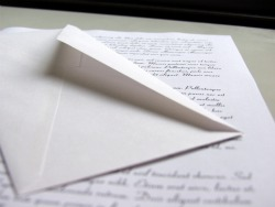 If you learn to write you can send letters to your friends.